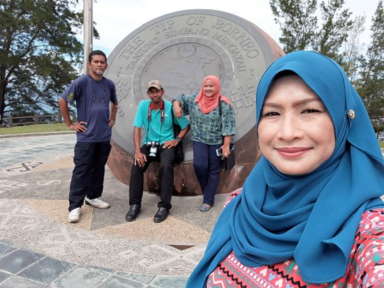 Exotic Borneo Travel Management: Another wefie @ The Tips Of Borneo, Simpang Mengayau.