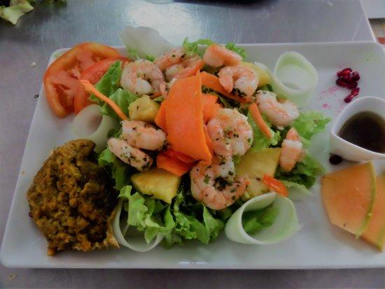 Le Rayon de Soleil: Salade Caraibe