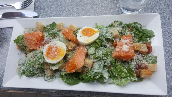 FORD'S Restaurant & Bar : Salmon caesar salad