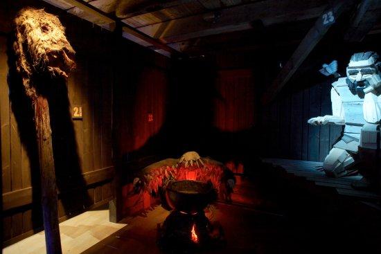 Borgarnes, Islandia: From Egils saga exhibition