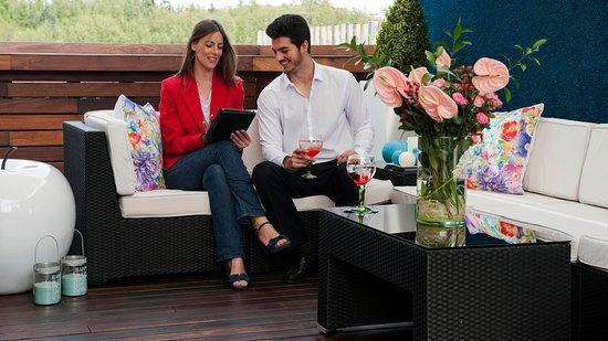 ApartoSuites Jardines de Sabatini: Chill out Rooftop