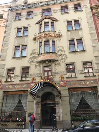 20171224 180758 picture of k k hotel central for Top hotel prag