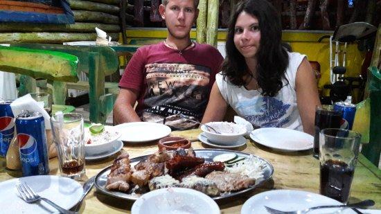 Vranje, Serbien: grill dish