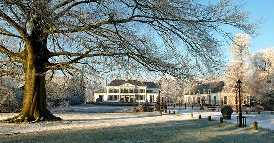 Brummen, Pays-Bas : winter op Kasteel Engelenburg