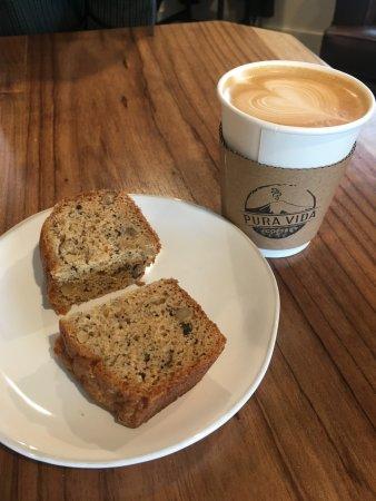 Pura Vida Coffee LLC Lattes And Banana Bread