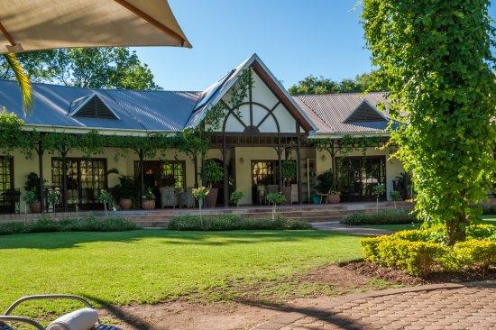 Hlangana Lodge: Het hoofdgebouw