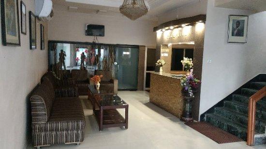 Ambikapur, India: Hotel Reception Area