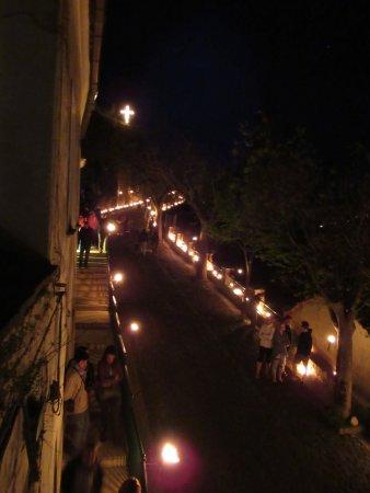 Hotel Parsifal Antico Convento del 1288: Via Crucis