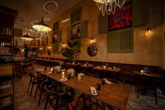 The Dining Room At Ola Restaurant Picture Of Ola