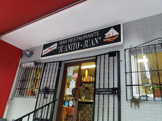 Restaurante juanito m laga omd men om restauranger for Juanito makande malaga