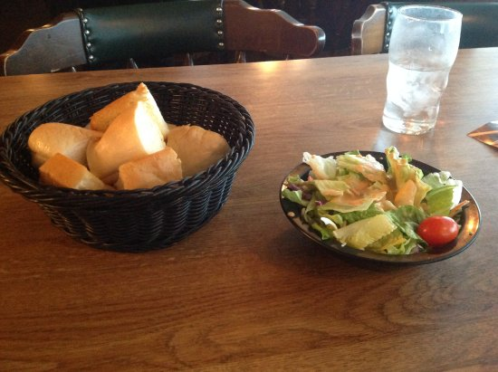 Arden Hills, MN: Bread and Salad