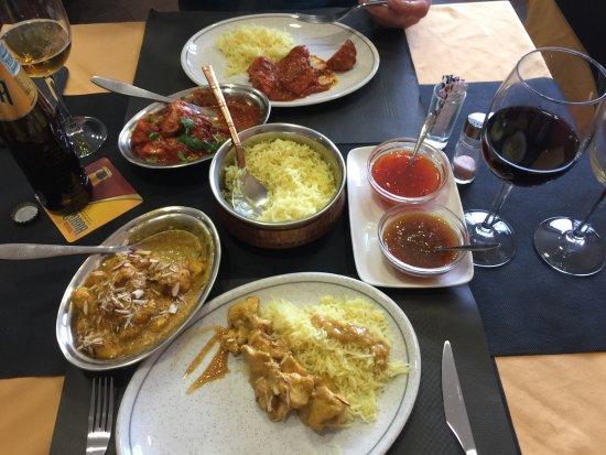 Les Planes d'Hostoles, España: Curry in Casa de Curry