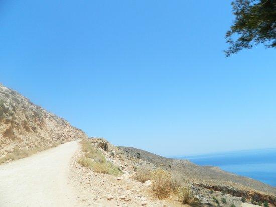 """Balos Lagoon: das ist der breite/gute Teil der """"Strasse"""""""