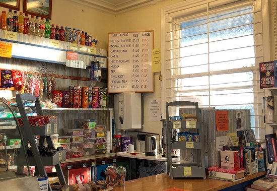 Barnham, UK: Food, Drinks and Books