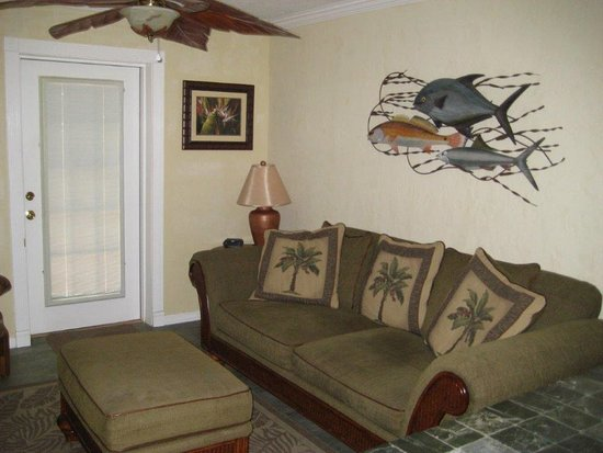 Ruskin, FL: Inside of one of our cottages.