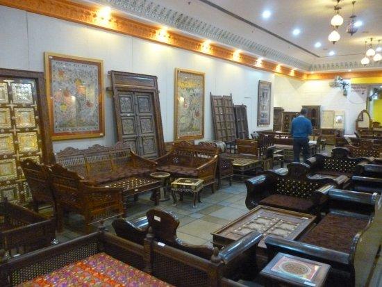 Central Cottage Industries Emporium: More Furniture