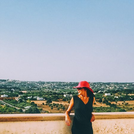 Locorotondo, la terrazza sulla Valle d\'Itria - Foto di Valle d\'itria ...