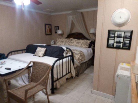 Crochet House Bed & Breakfast : Chambre