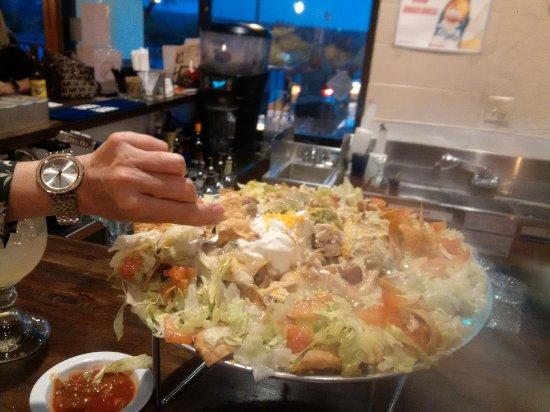 โอโรเวลลีย์, อาริโซน่า: Awesome nachos