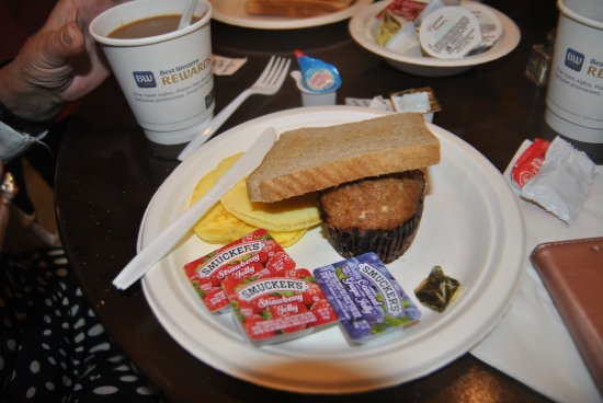 Best Western Plus St. Christopher Hotel: petit dej