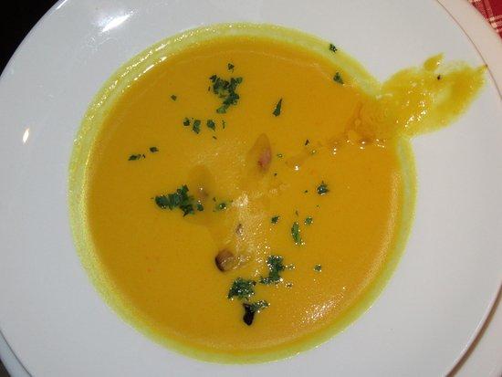 Biograf : сезонный суп из тыквы