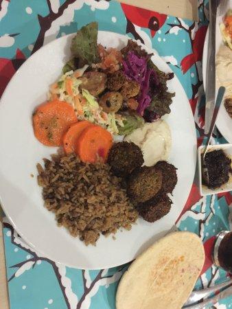 Playa Bejuco, Коста-Рика: MMM - Falafel plate