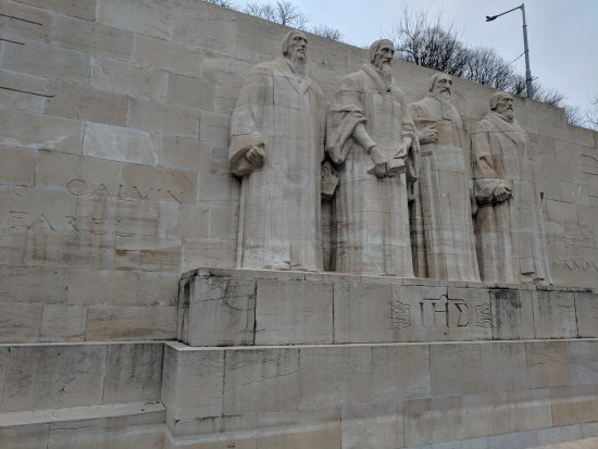 Reformation Wall (Mur de la Reformation): This is the main view