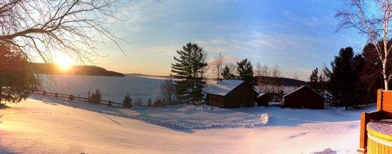 Ville-Marie, Kanada: Vue sur le lac Témiscamingue