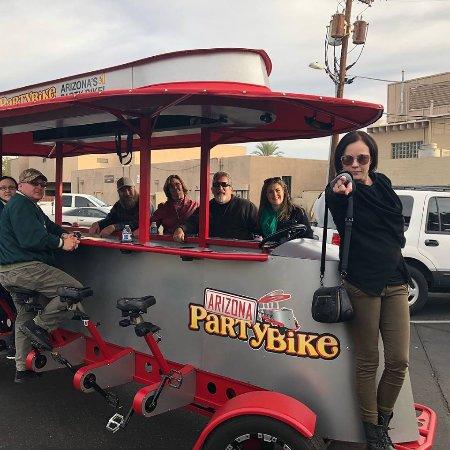 Bike Bar Tour Scottsdale Az