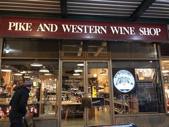 Pike and Western Wine Shop
