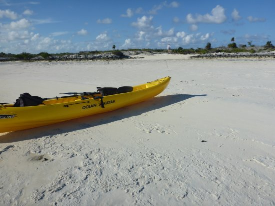 Little Exuma: Kayak at beach