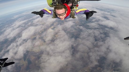 Cedartown, GA: Me jumping out of a perfectly good plane