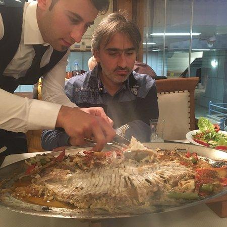 Balik Noktasi : Very nice restaurant , excellent service specialy maitre abdullah is a very nice waiter