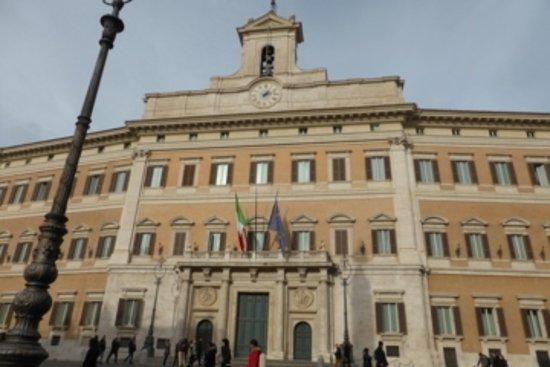 Palazzo montecitorio camera dei deputati sala della for Camera deputati roma
