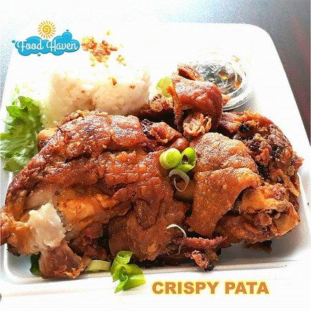 Timaru, Nueva Zelanda: Crispy Pata (Crispy Pork Leg)