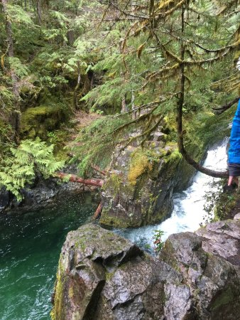 Salem, OR: Falls going into Opal Pool