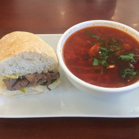 Great soups and sandwiches!
