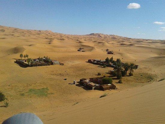 Auberge Wilderness Lodge: Middle of Sahara