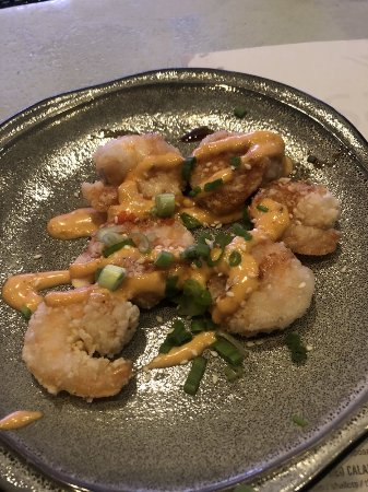Masa 14: crunchy shrimp
