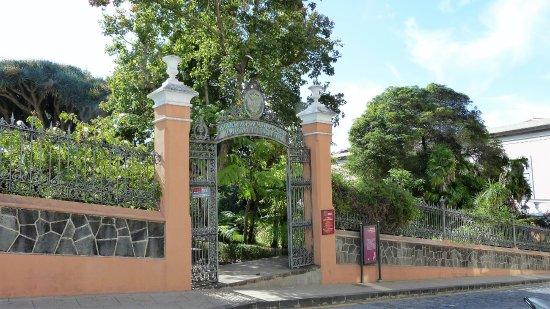 La Orotava, Spain: Ingang Botanische tuin