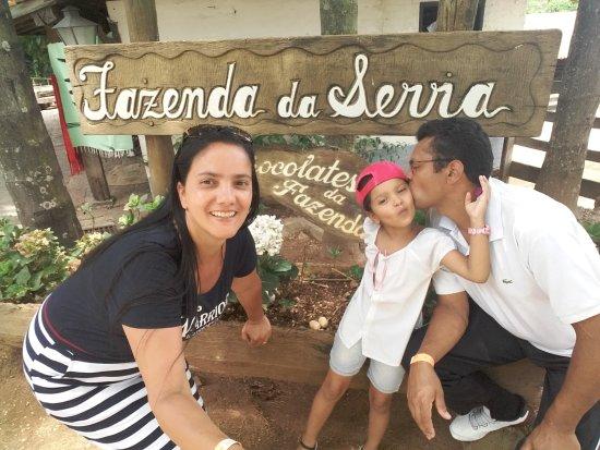 Fazenda da Serra...conhecida como fazenda do Chocolate!