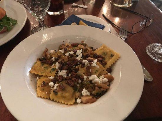 Griswold Inn ~ Dining: Butternut Squash Ravioli