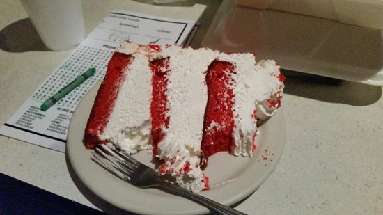 Irmo, SC: The red velvet cake Huge!!