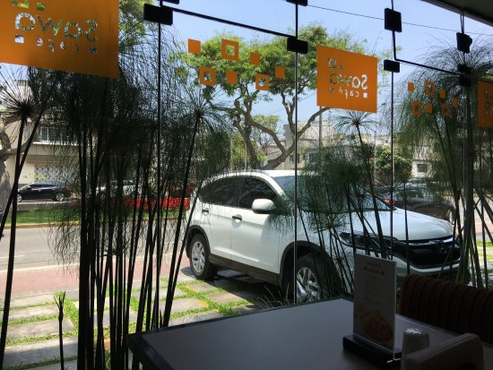 Girasoles Hotel: cafe 1