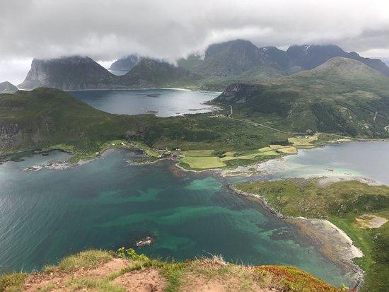 Vestvagoy, Norway: Offerøykammen