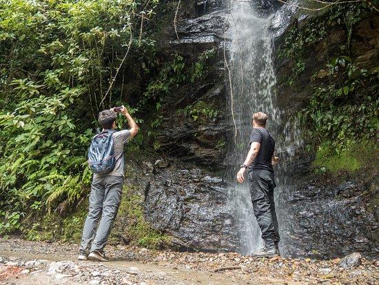 Yolosa, Bolivie: Nearby waterfalls