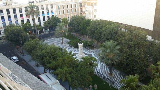 Hotel Derby Sevilla: 옥상로비 풍경
