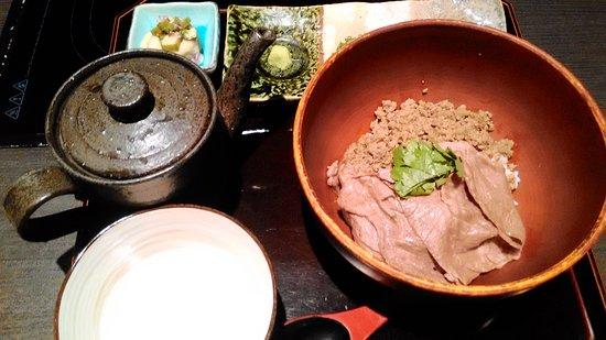 Nabe Seizan : Wagyu Beef Don set 2