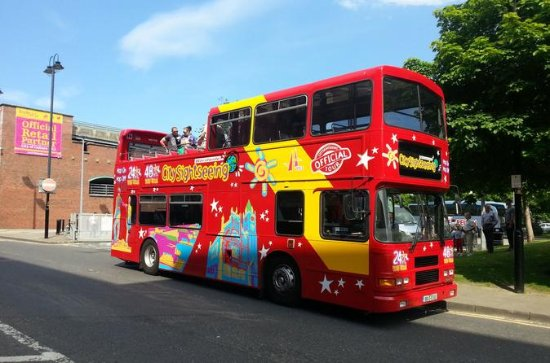 Derry City Sightseeing Hop-On Hop-Off...