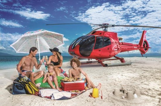 Great Barrier Reef Private Helicopter...